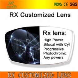 RX Csutomized Lens